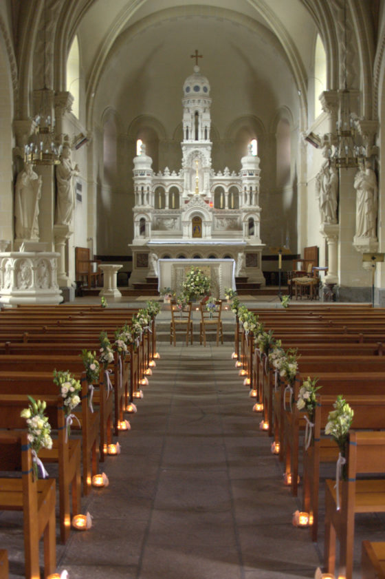 Allée église - Mariage Bretagne 2017 - La Saladelle