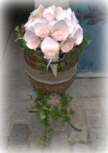 Pétales de rose - Mariage Bretagne 2017 - La Saladelle