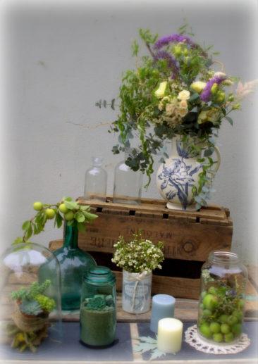 Décor vintage - Mariage Bretagne 2017 - La Saladelle