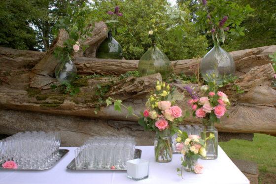 Cocktail mariage Château de la Motte Beaumanoir - La Saladelle