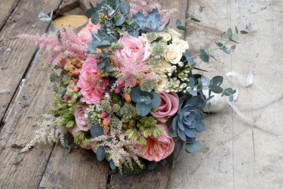 Bouquet de mariée - Bretagne 2017 - La Saladelle