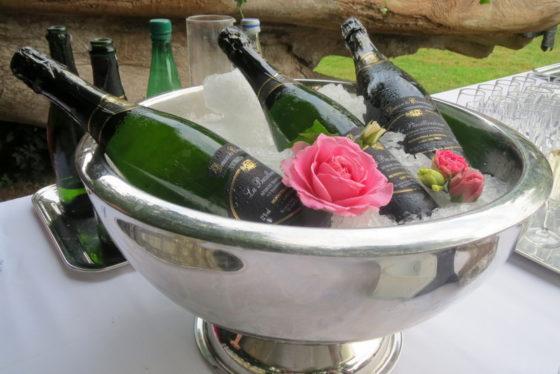 Champagne fleuri - Château de la Motte Beaumanoir