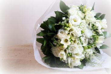 Bouquet de Caroline - Mariage C&C - Atelier floral La Saladelle