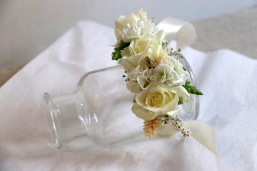 Bracelet - Mariage C&C - Atelier floral La Saladelle