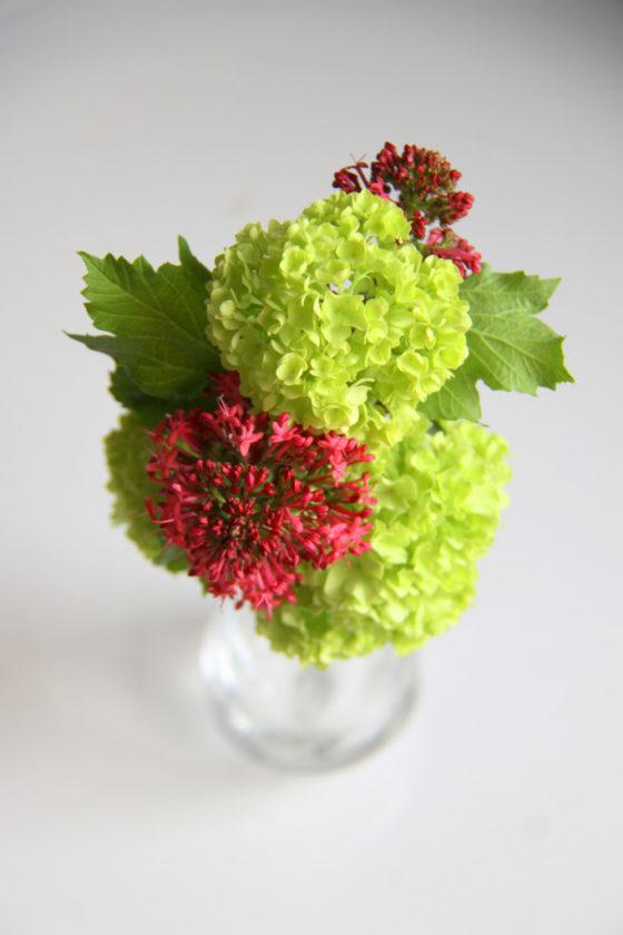 Petit bouquet pompon - La Saladelle