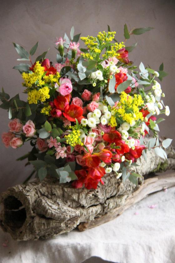Bouquet de saison - La Saladelle - Atelier décoration florale