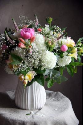 Bouquet tout en élégance - Atelier floral - La Saladelle - Perpignan