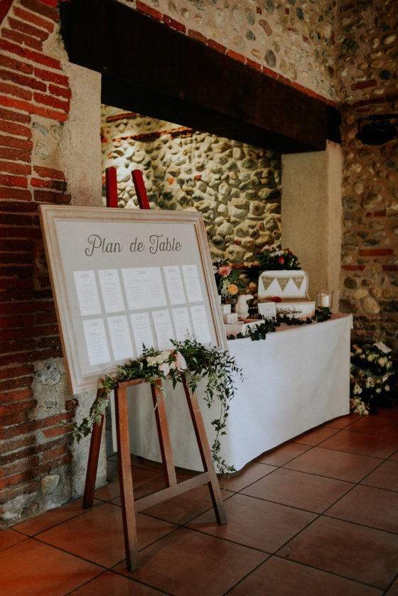 Mariage Tiphaine & Julien - Plan de table - La Saladelle - (Photos Cyrielle RIBA GIORGI)