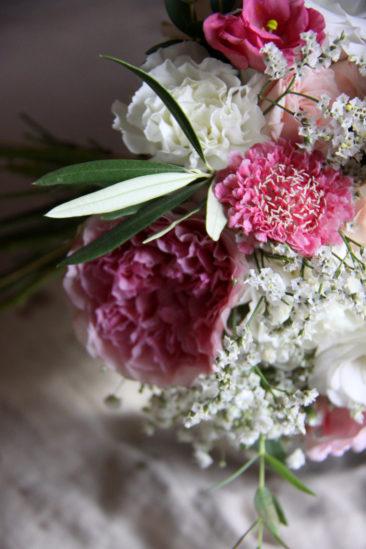 Bouquet de mariée - Mariage Estelle & Joris - La Saladelle 2018