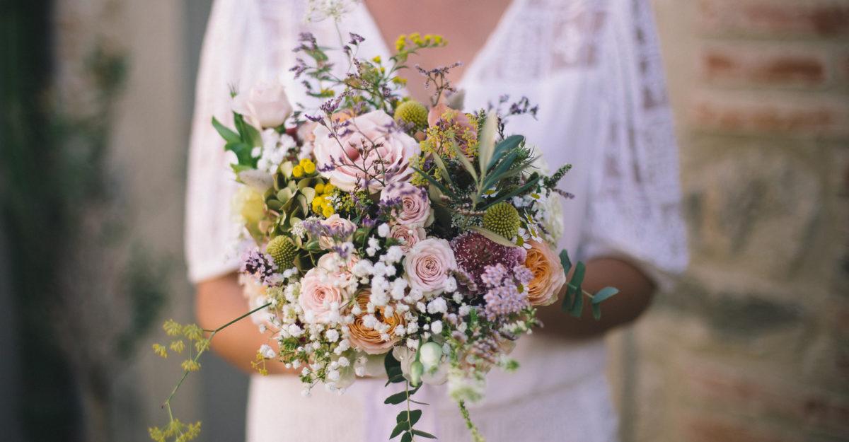 Bouquet de mariée - Caroline